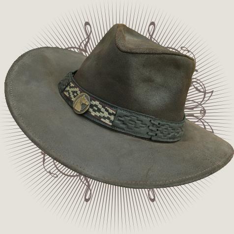 8e9c4ef16e643 Sombrero De Cuero