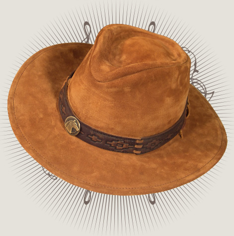 8d71b0cd2ab13 Hat in Leather